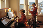 Childhood Music Lessons May Offer Lifelong Benefits